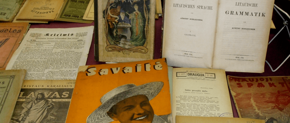 We Invite You to Navigate The World Lithuanian Archive